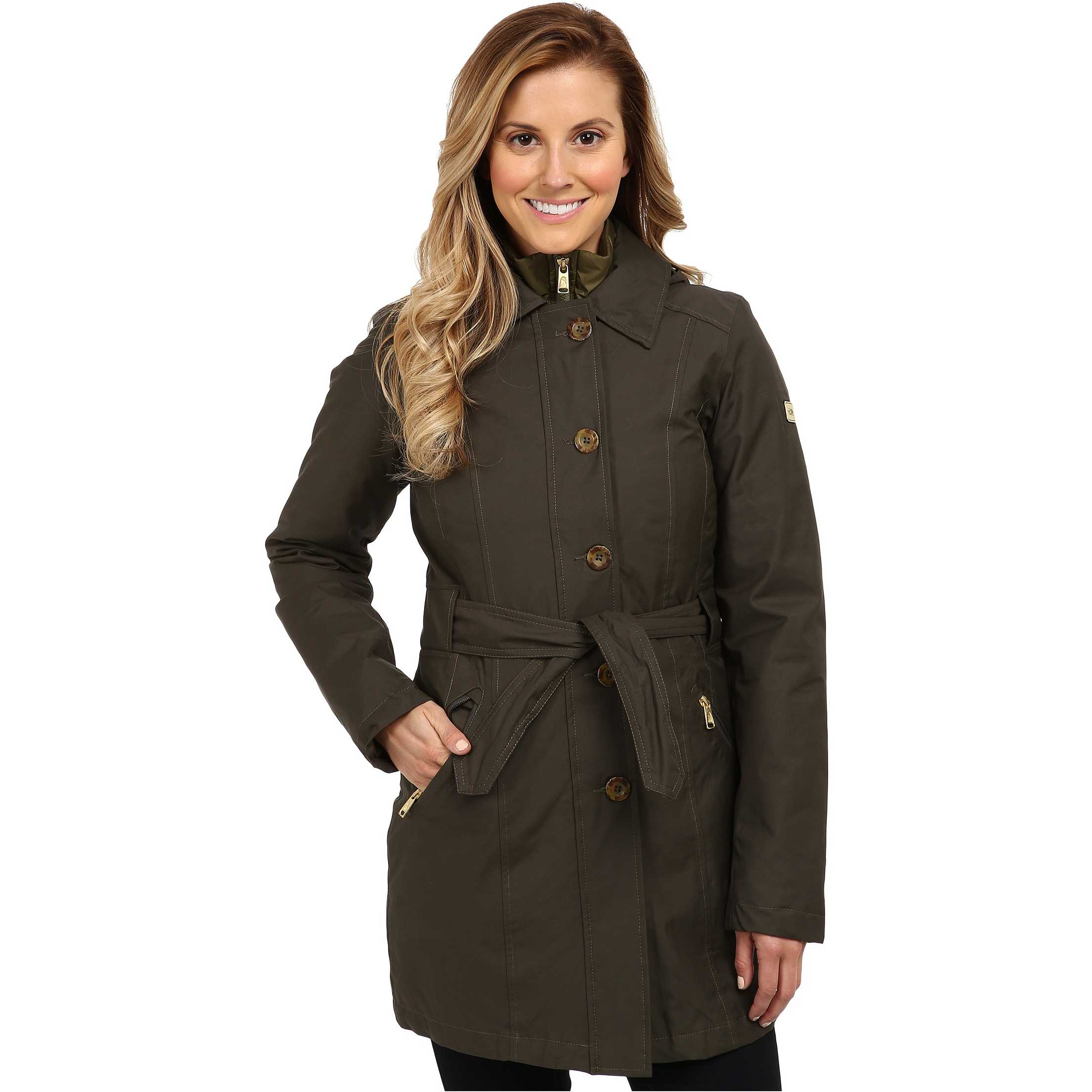 The North Face Riverdale Trench Triclimate Jacket Black Ink Green trench dama