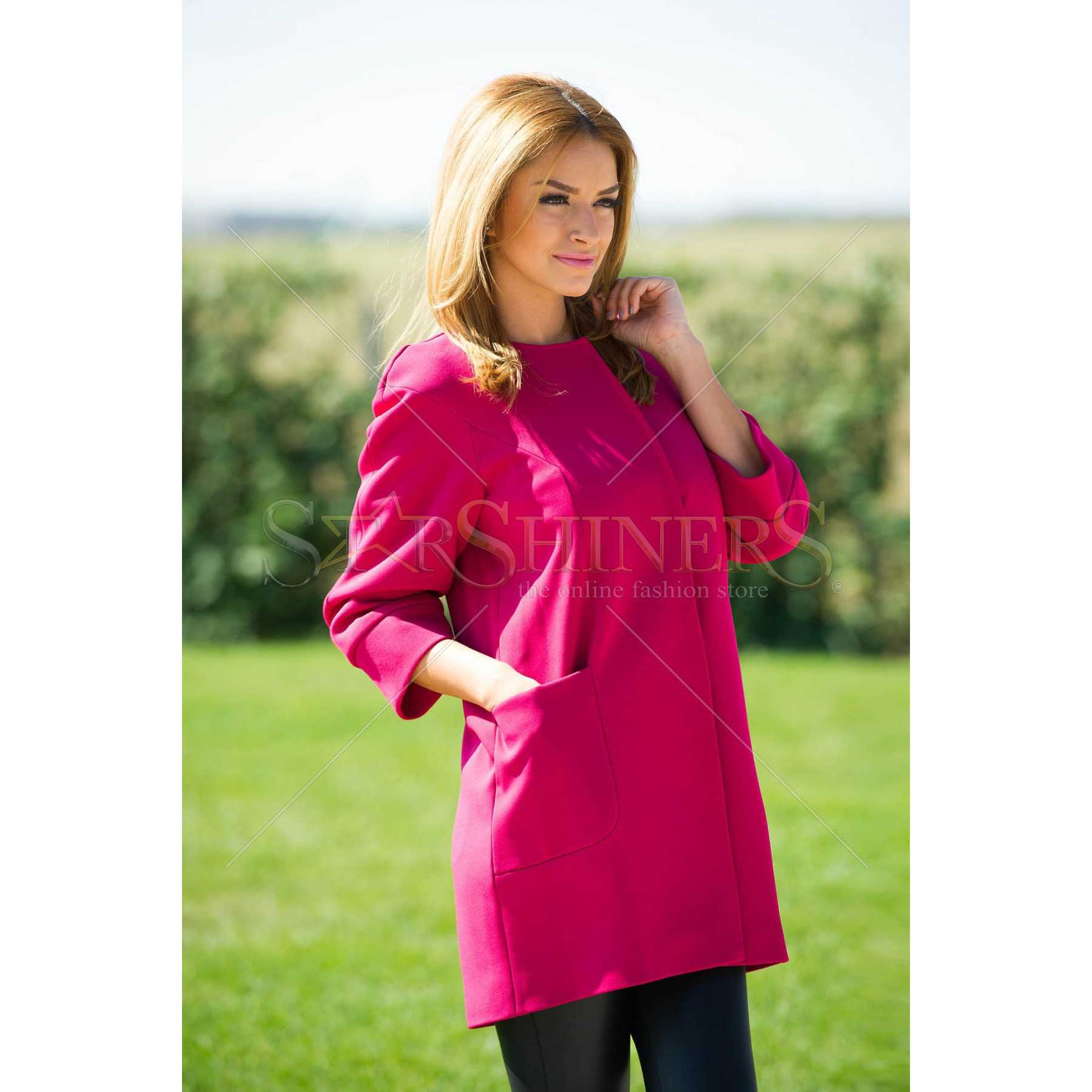 Trench LaDonna Short Cut Pink trench dama