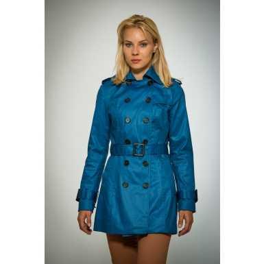 Trench albastru pentru femei trench femei