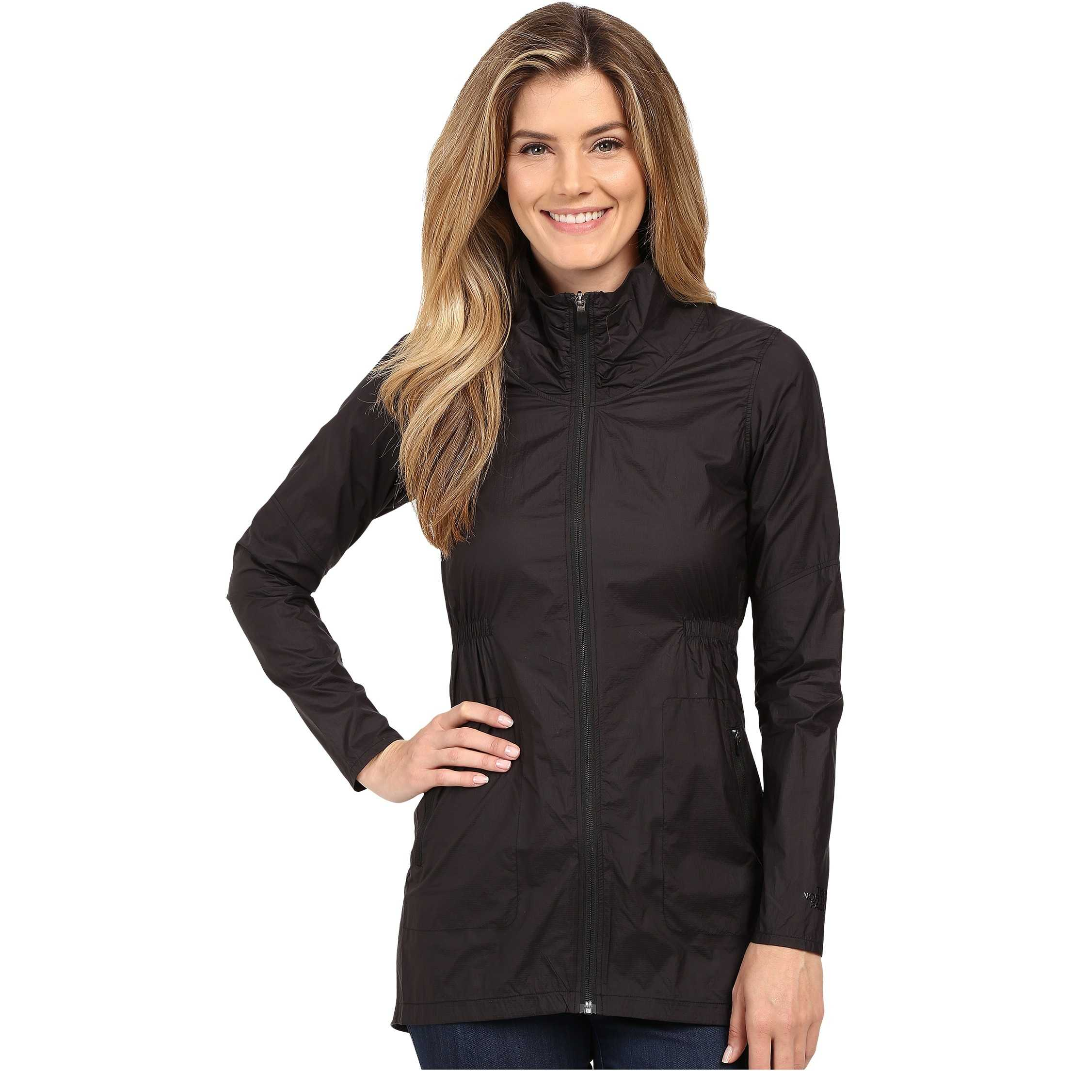 The North Face Nueva Trench Jacket TNF Black trench dama