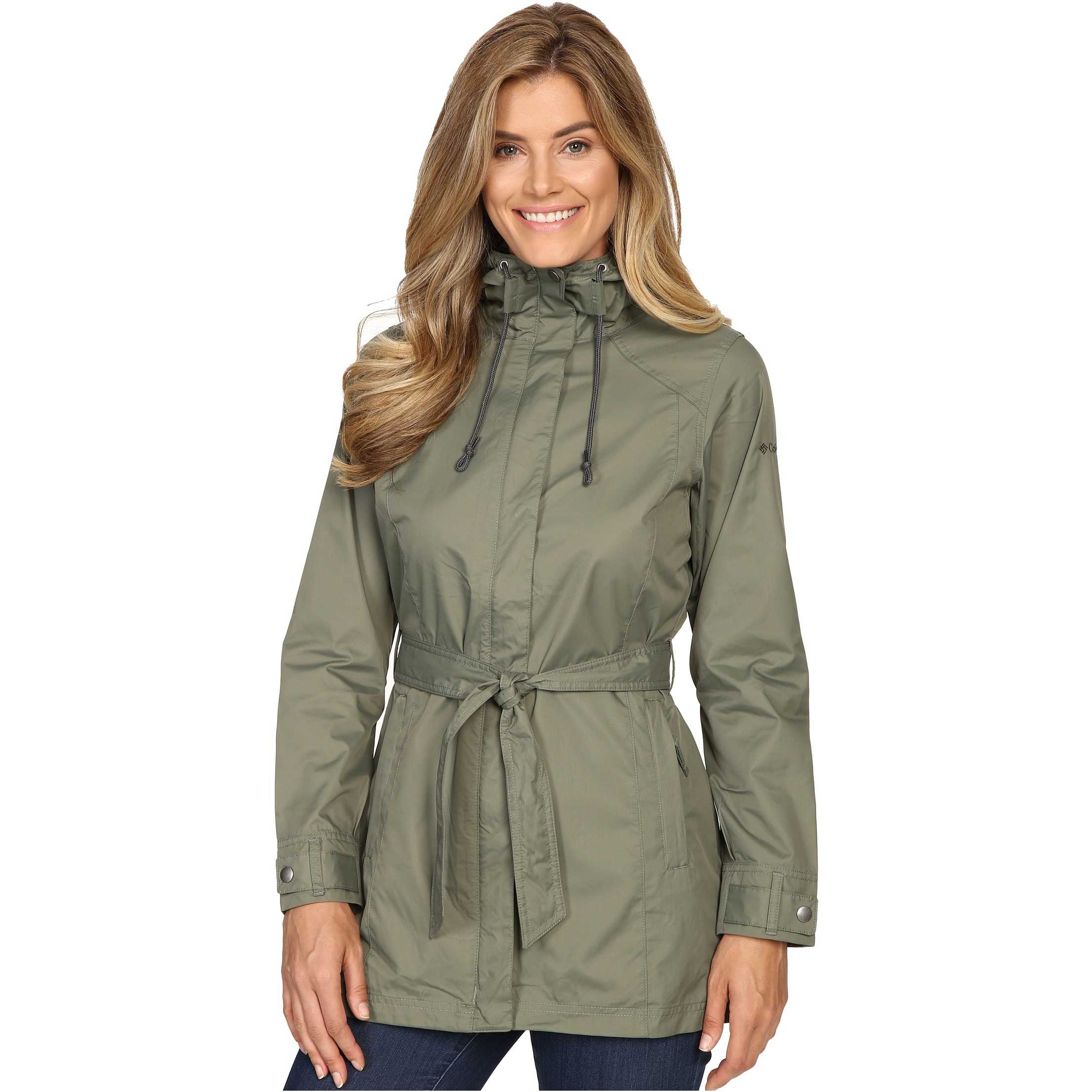 Columbia Pardon My Trench Rain Jacket Cypress trench femei