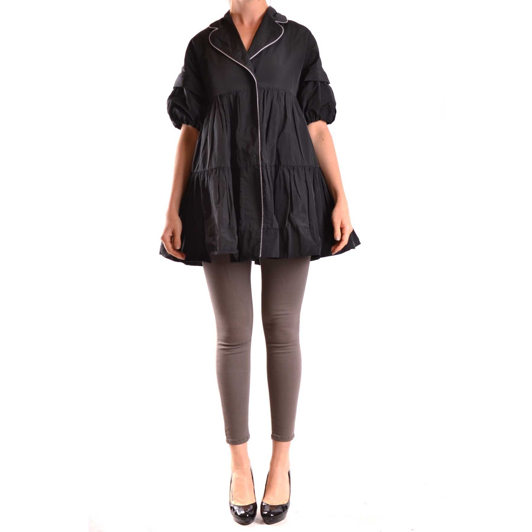 Isola Marras Trench Black trench femei