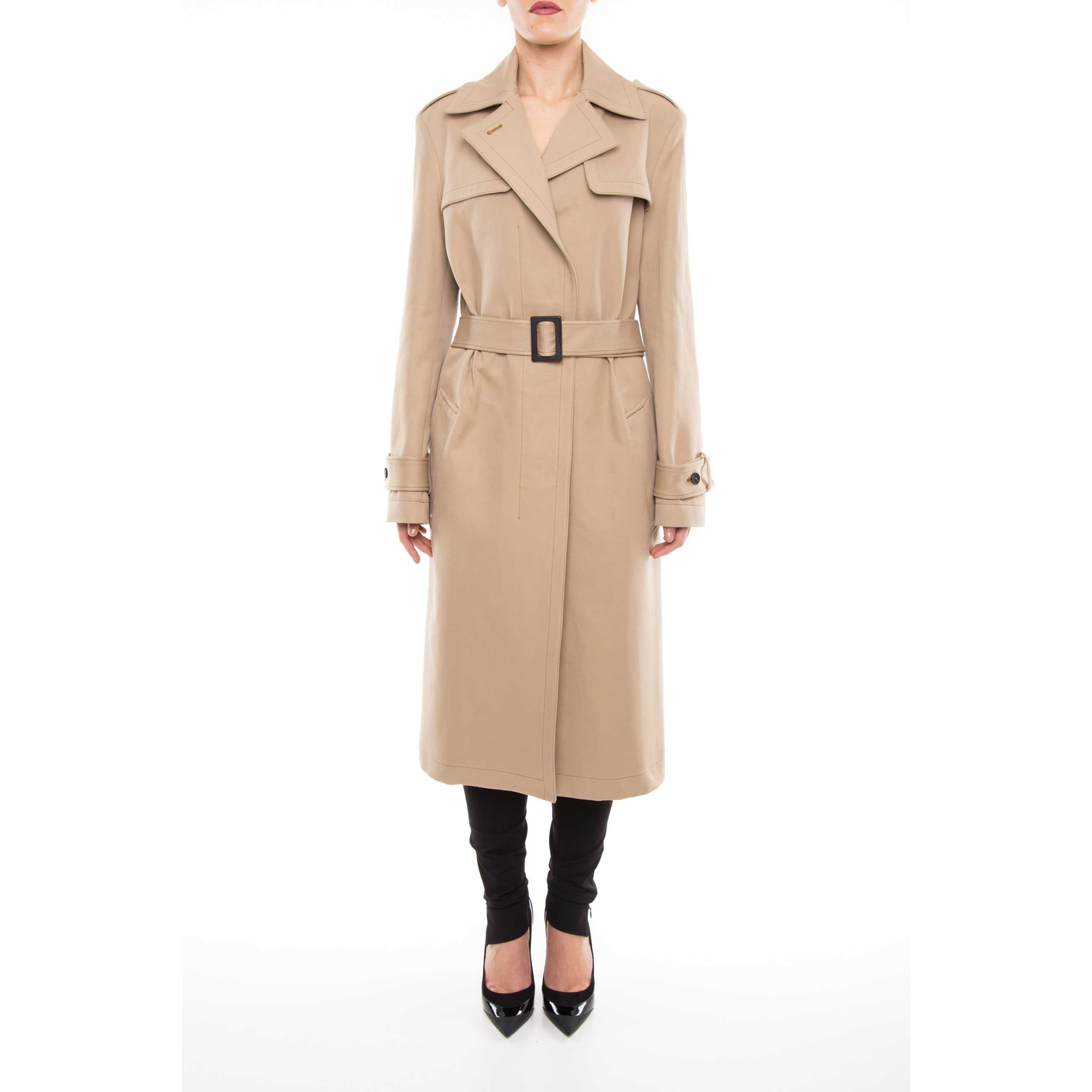 Jil Sander Acri Sport Trench Coat JSPH470125 WH250303 MEDIUM BEIGE trench dama