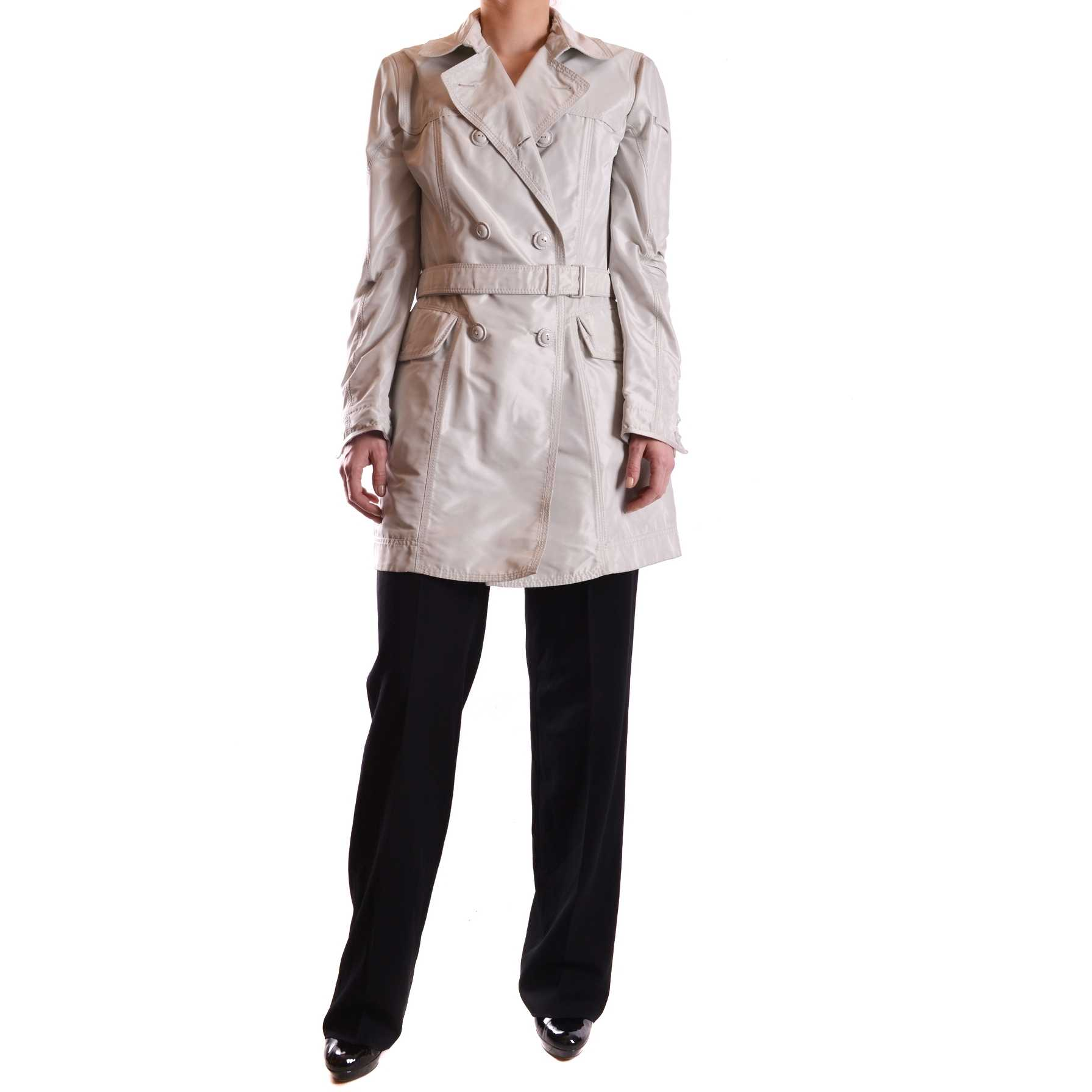 Peuterey Trench Gray trench dama