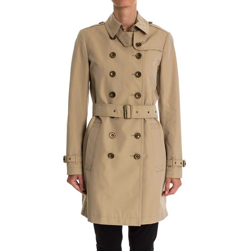 "Burberry ""crombrook"" Trench Coat Beige pentru femei"
