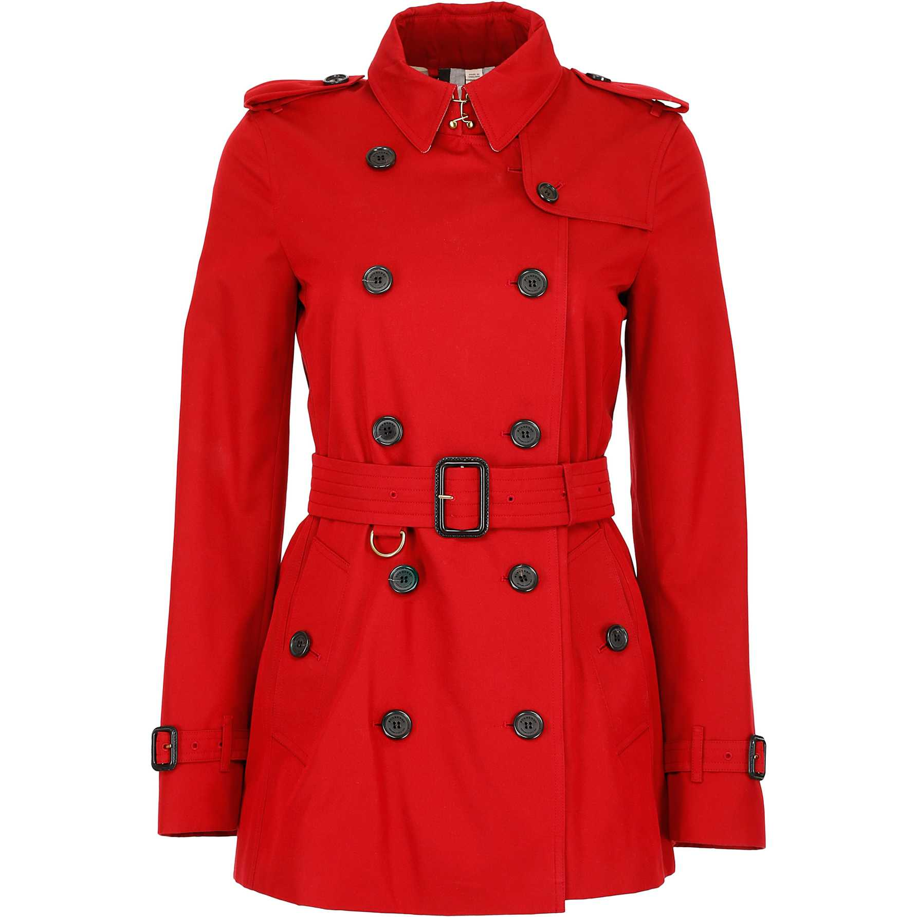Burberry Short Kensington Trench Coat PARADE RED pentru dama