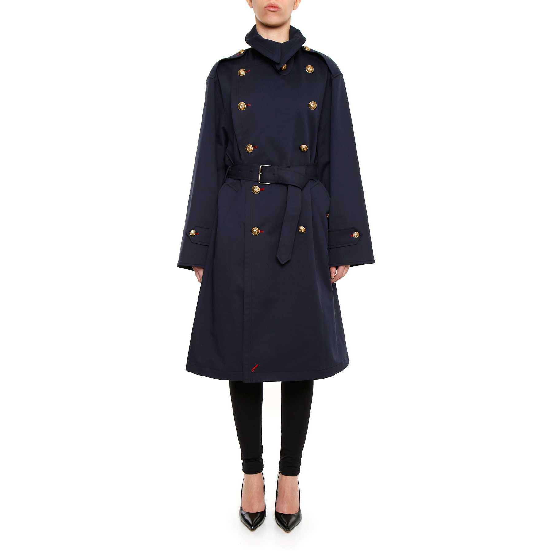 Maison Margiela Trench Coat NAVY BLUE pentru femei