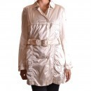 Geospirit Trench Pt1974 Cream trench femei