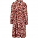 Marni Printed Nylon Trench Coat HENNE pentru femei