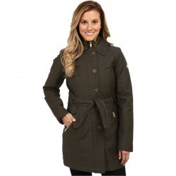 The North Face Riverdale Trench Triclimate Jacket Black Ink Green
