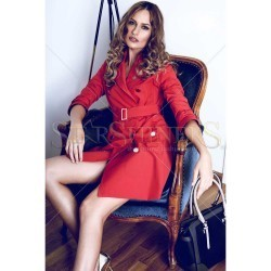 Trench PrettyGirl Modern Red