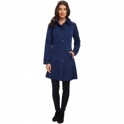 Rainforest Packable S/B Trench Coat Navy