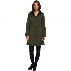 Rainforest Packable S/B Trench Coat Olive