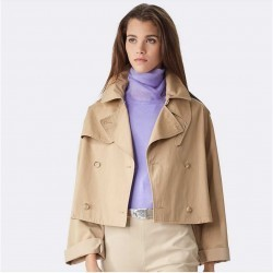 Ralph Lauren Veronica Trench Jacket Classic Tan trench femei