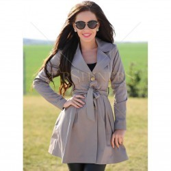 Trench LaDonna First Cover Brown trench dama