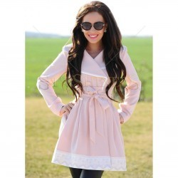 Trench LaDonna Totally Classy Rosa trench femei