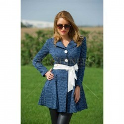 Trench Artista High Modernity DarkBlue trench femei