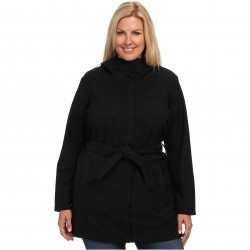 Columbia Plus Size Take to the Streets Trench Black trench femei