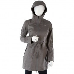 The North Face Teralinda Trench Sedona Sage Grey trench femei