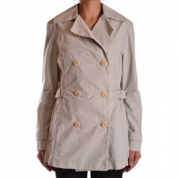 Brema Trench Nn335 Cream trench dama