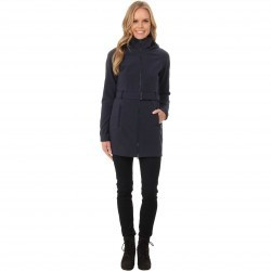 The North Face Apex Bionic Trench Coat Urban Navy trench femei
