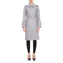 Balenciaga Mackintosh Trench Coat GRIS pentru dama