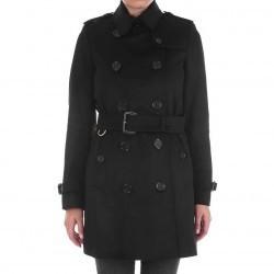 Burberry Kensington Trench Black pentru femei