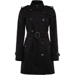 Burberry Kensington Trench Coat BLACK pentru femei