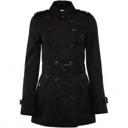 Burberry Sandringham Trench Coat BLACK pentru femei