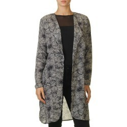 b.young Lilyanne Women's Black Trenchcoat Black