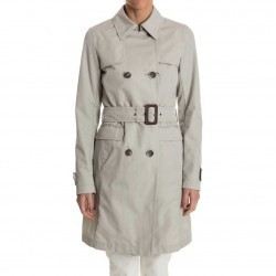 Herno Double-Breasted Trench Beige pentru dama