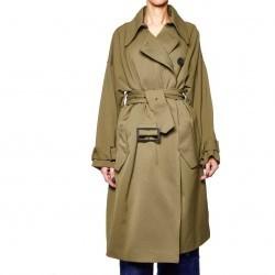 Weili Zheng Long trench coat Oliv pentru dama
